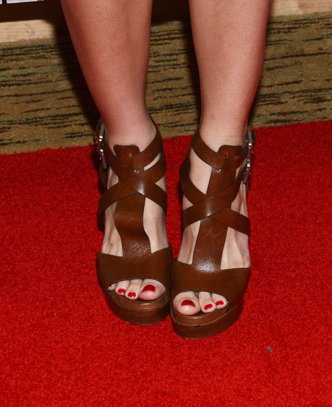 Ashley Greene Strappy Sandals