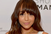 Ashley Madekwe Long Wavy Cut with Bangs