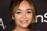 Ashley Madekwe Messy Updo