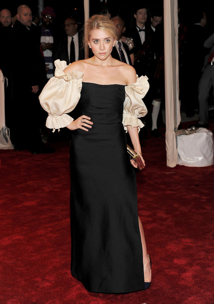 Ashley Olsen Evening Dress