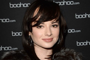 Ashley Rickards Medium Layered Cut
