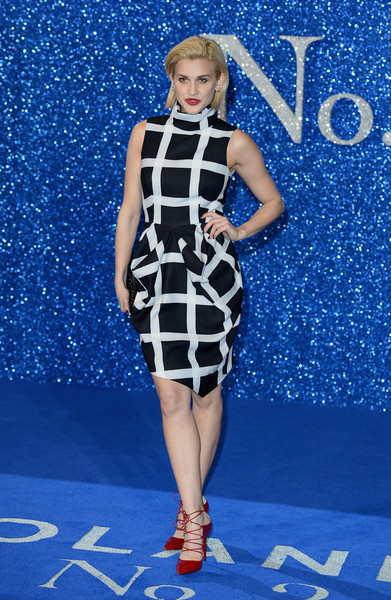 Ashley Roberts Print Dress