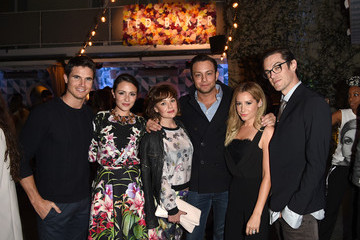 Ashley Tisdale Christopher French Ted Baker London's SS15 Launch Event