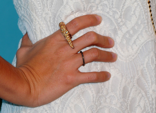 Ashley Tisdale Cocktail Ring