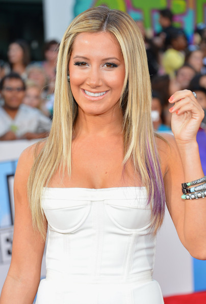 Ashley Tisdale Long Straight Cut