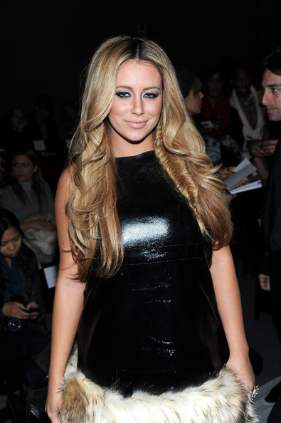 Aubrey O'Day Long Braided Hairstyle