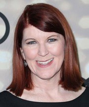 Kate Flannery kept it simple with this mid-length bob when she attended the Emmy kickoff party.