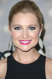 Katherine Bailess looked gorgeous at the Emmy kickoff party with her sleek ponytail.