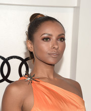 Kat Graham slicked her hair back into a high braid for Audi's celebration of Emmys week.