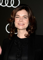 Betsy Brandt looked darling with her pinned-up ringlets during the Golden Globes Weekend celebration.