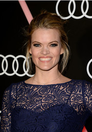 Missi Pyle topped off her look with a sexy-messy updo when she attended the Golden Globes Weekend celebration.
