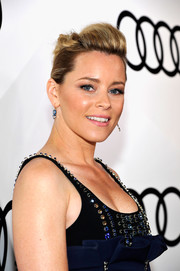 Elizabeth Banks attended Audi's celebration of the Emmys rocking an edgy-glam pompadour.