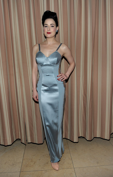 Dita+Von+Teese in Audi Golden Globes Celebration With Nominee Anna Paquin