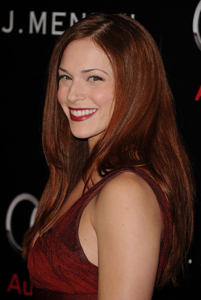 More Pics of Amanda Righetti Long Straight Cut (1 of 12) - Amanda Righetti Lookbook - StyleBistro