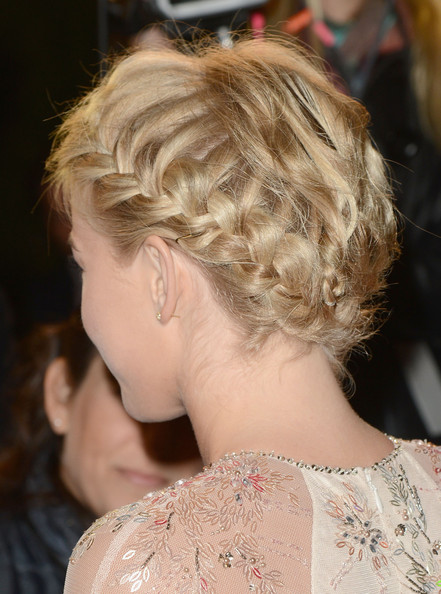 More Pics of Julianne Hough Braided Updo (1 of 15) - Updos Lookbook - StyleBistro