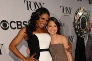 Audra McDonald Strapless Dress