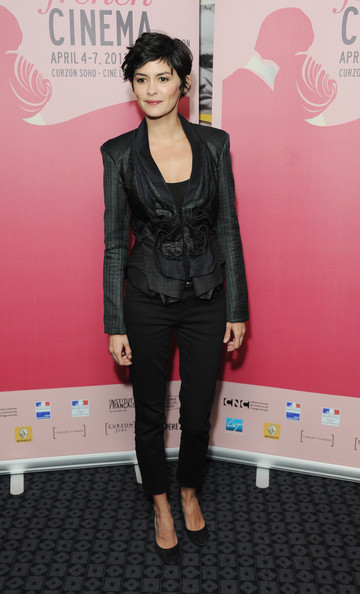 More Pics of Audrey Tautou Skinny Jeans (2 of 13) - Skinny Jeans Lookbook - StyleBistro