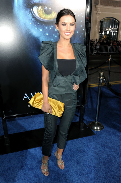 Audrina Patridge Satin Clutch