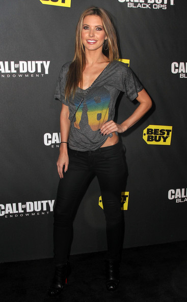 Audrina Patridge V-Neck Tee