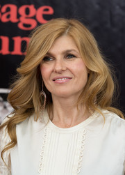 Connie Britton styled her hair with soft, romantic waves for the 'August: Osage County' NYC premiere.