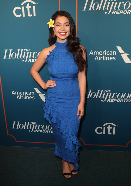Auli'i Cravalho Halter Dress