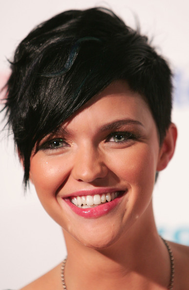 More Pics of Ruby Rose Short Emo Cut (1 of 4) - Short Hairstyles Lookbook - StyleBistro [australias next top model,image,hair,face,eyebrow,lip,chin,hairstyle,skin,forehead,black hair,facial expression,ruby rose,hair,face,luna park,australia,mtv,final,final,ruby rose,australias next top model,batwoman,celebrity,luna park sydney,vj,1986,vjing,image]