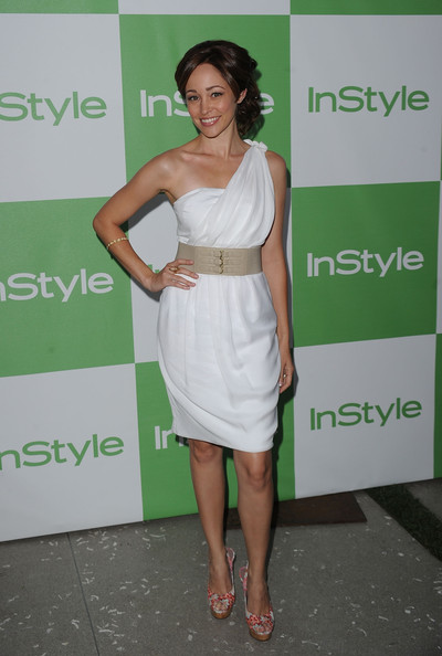 Autumn Reeser One Shoulder Dress