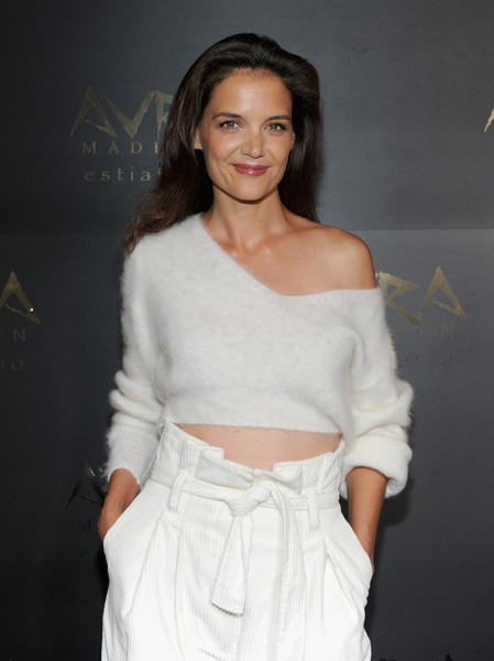 More Pics of Katie Holmes Wide Leg Pants (10 of 10) - Katie Holmes Lookbook - StyleBistro