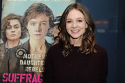 Carey Mulligan looked oh-so-cute with her mid-length curls at the BAFTA LA Behind Closed Doors event.