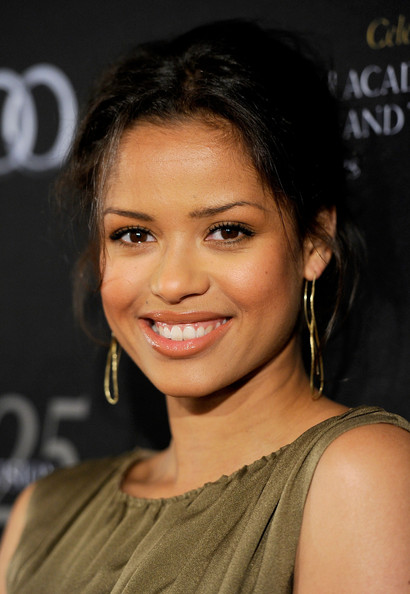 More Pics of Gugu Mbatha-Raw Cutout Boots (1 of 11) - Boots Lookbook - StyleBistro [red carpet,hair,face,hairstyle,eyebrow,beauty,chin,nose,lip,forehead,black hair,gugu mbatha-raw,los angeles,beverly hills,california,four seasons hotel,bafta,los angeles 18th annual awards season tea party]