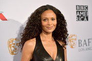 Thandie Newton gave us hair envy with her long, thick curls at the BAFTA Los Angeles Tea Party.
