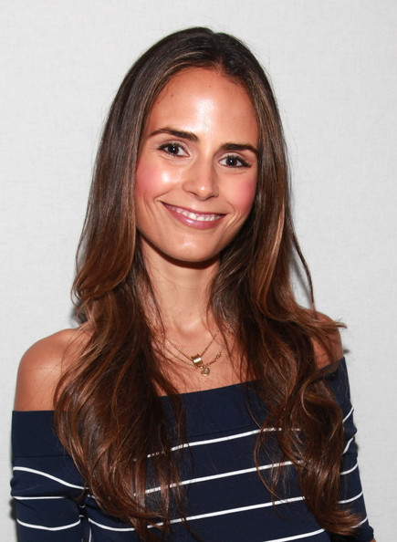 More Pics of Jordana Brewster Pink Lipstick (1 of 13) - Jordana Brewster Lookbook - StyleBistro