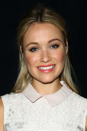 Katrina Bowden opted for a basic half-up style when she attended the BCBG Max Azria fashion show.