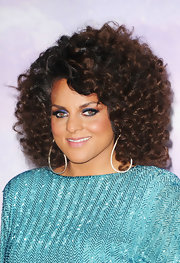 Marsha Ambrosius topped off her 2011 BET Awards look with a shoulder-length curly 'do.