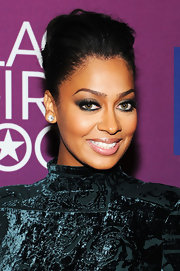 La La Anthony wore her hair in a glamorous pompadour when she attended BET's Black Girls Rock event.