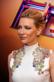 Cate Blanchett wore a classic loose updo to the BFI London Film Festival Awards.