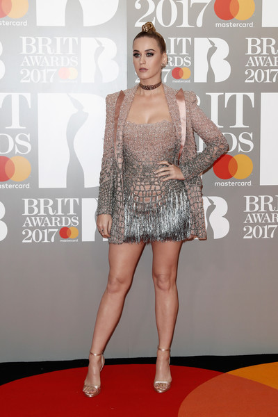 More Pics of Katy Perry Gemstone Studs (3 of 15) - Earring Studs Lookbook - StyleBistro [red carpet,carpet,premiere,fashion,flooring,event,leg,fashion design,fashion show,fashion model,red carpet arrivals,katy perry,brit awards,england,london,the o2 arena]