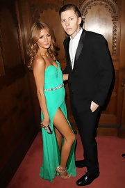 Millie Mackintosh looked gorgeous in a Rachel Gilbert dress at the BRIT awards after-party.