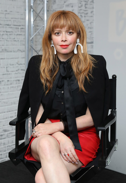 More Pics of Natasha Lyonne Brogues (5 of 20) - Heels Lookbook - StyleBistro [the cast of orange is the new black,orange is the new black,sitting,clothing,leg,lady,beauty,hairstyle,fashion,blond,thigh,lip,cast,actors,natasha lyonne,build ldn,build ldn,aol london,england,event]