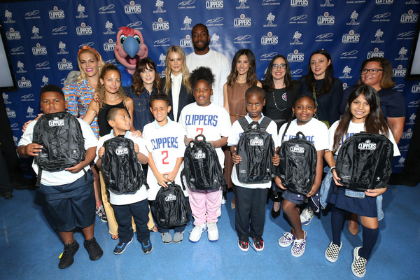 More Pics of Nicole Richie Flare Jeans (1 of 15) - Jeans Lookbook - StyleBistro [social group,team,youth,event,talent show,competition,uniform,backpacks,kawhi leonard,ambassadors,students,students,donation,donation,los angeles,baby2baby,la clippers]