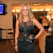 Miranda Lambert in Black Corseted Leather at the CMT Music Awards