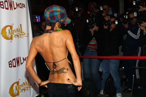 Bai Ling Animal Tattoo