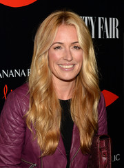 Cat Deeley looked like Barbie with her long wavy 'do at the Banana Republic L'Wren Scott collection launch.