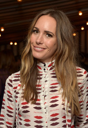 Louise Roe attended the Banana Republic L'Wren Scott collection launch wearing her hair in boho waves.