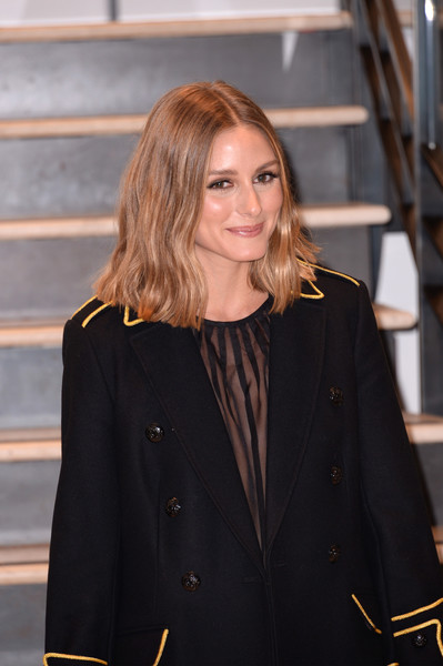 More Pics of Olivia Palermo Flat Oxfords (1 of 5) - Flat Oxfords Lookbook - StyleBistro [outerwear,fashion,blond,street fashion,long hair,suit,event,fashion design,brown hair,blazer,olivia palermo,x,olivia palermo - presentation,new york city,banana republic,new york fashion week,presentation]