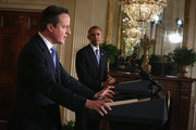 Barack Obama and David Cameron Photo