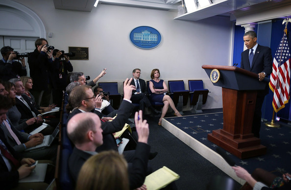 President Obama Makes Statement On The Sequestration