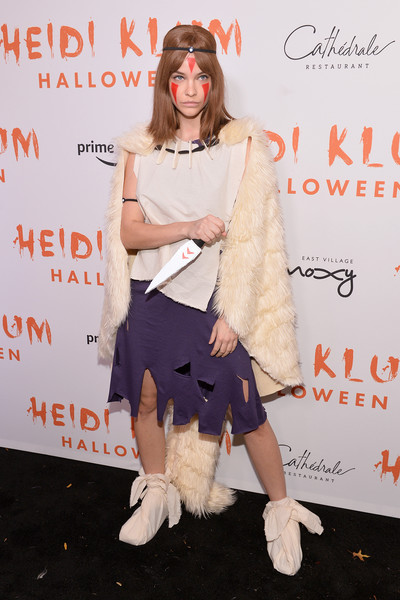 Barbara Palvin Cape [video,clothing,fashion,shoulder,footwear,joint,fur,eyewear,fashion design,event,costume,svedka vodka,arrivals,heidi klum,barbara palvin,cath\u00e9drale new york,cath\u00e3,new york,20th annual halloween party,amazon prime]