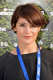 Gemma Arterton looked cute with her emo bangs at the British Summer Time Hyde Park event.