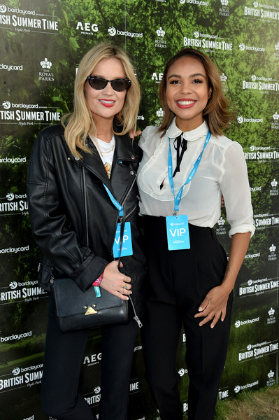 More Pics of Laura Whitmore Leather Sneakers (2 of 8) - Athletic Shoes Lookbook - StyleBistro [suit,uniform,formal wear,event,tie,tuxedo,pantsuit,guest,laura whitmore,hyde park,barclaycard exclusive area,england,london,barclaycard presents british summer time hyde park,barclaycard presents british summer time,l]